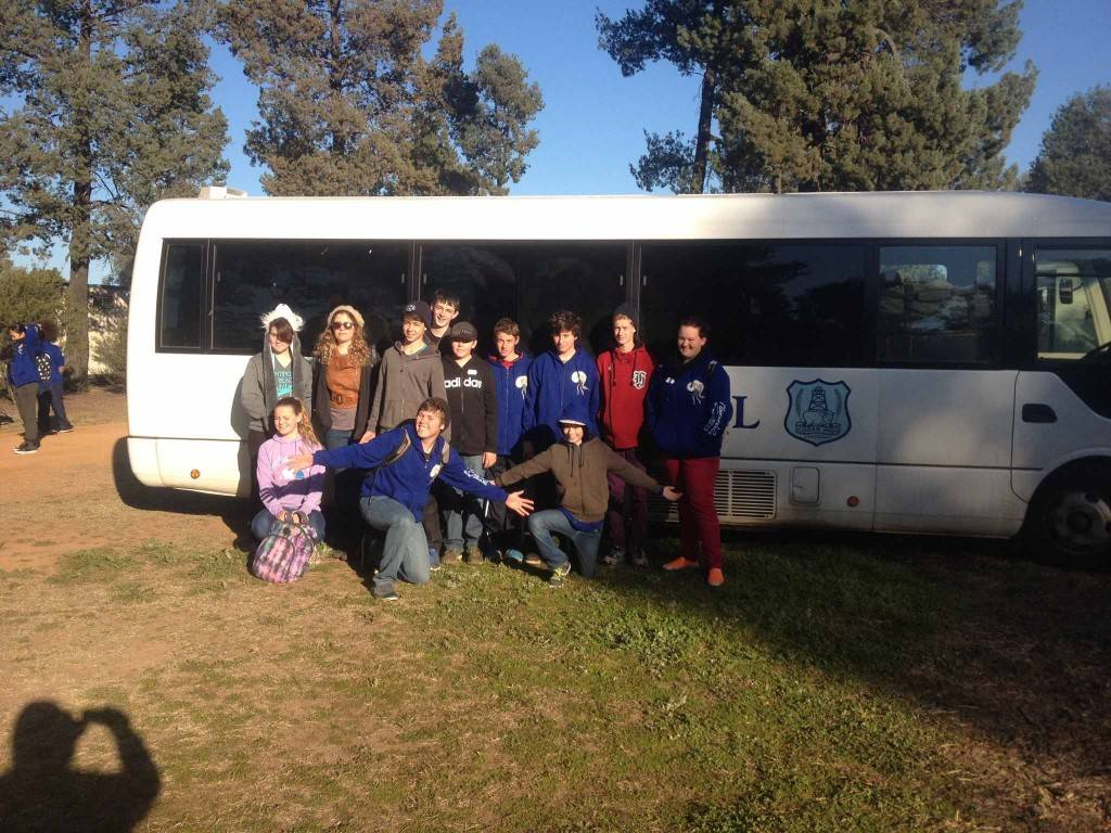 A group of 12 Cobar High School students, supported by Cobar Arts Council, recently travelled to Baradine to rehearse for the Moorambilla Voices project. ▪ Photo contributed
