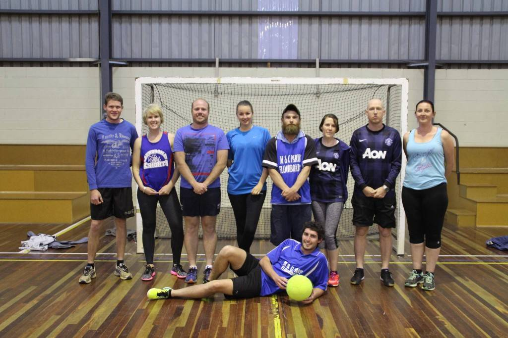 The Blue Mixed Indoor Soccer All Star team were the winners of the All Stars games which was held last Wednesday night at the Cobar Youth & Fitness Centre. Blue defeated White 7-3.