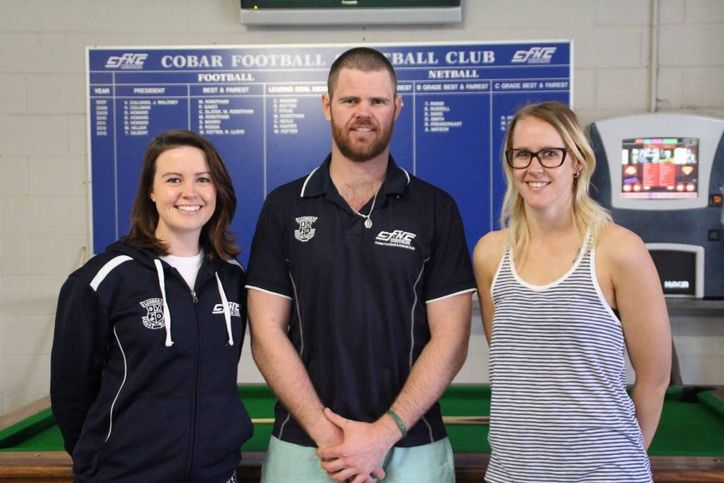 The Cobar Blues held their annual general meeting on Sunday at the Great Western Hotel. The committee welcomed Jennifer Mitchell back to the position of club treasurer, Robbie Mitchell and Bianka Jacobson (absent) share co-presidents role and Naomi Whitehurst returned to the position of secretary.