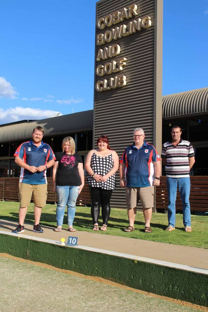 Ben Trudgett (Registrar and Media Officer), Jessica Claus and Emily Claus (sharing the secretary's role), John Claus (president) and Glenn Davis (vice president) were elected to the executive at the Cobar Senior Rugby League Football Club's AGM on Sunday at the Cobar Bowling & Golf Club. (Absent Rachel Garland, treasurer).