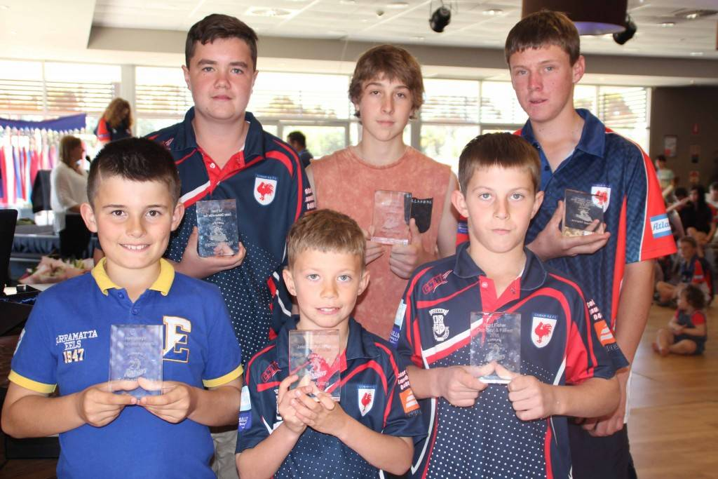 Cobar Junior Rugby League's 2015 perpetual trophy winners were: Tristan Bliss (Henry Knight Sportsmanship Juniors), Wyatt Proudlove (Ted Brown Senior Clubman of the Year), Kai Taylor (Tyron Purcell Junior Clubman of the Year), Marty Turton (Joey Lloyd Sportsmanship Seniors), Zane Taylor (Shad Fisher Club Best and Fairest) and Michael Manns (Tom Good Club Player with the Most Heart).