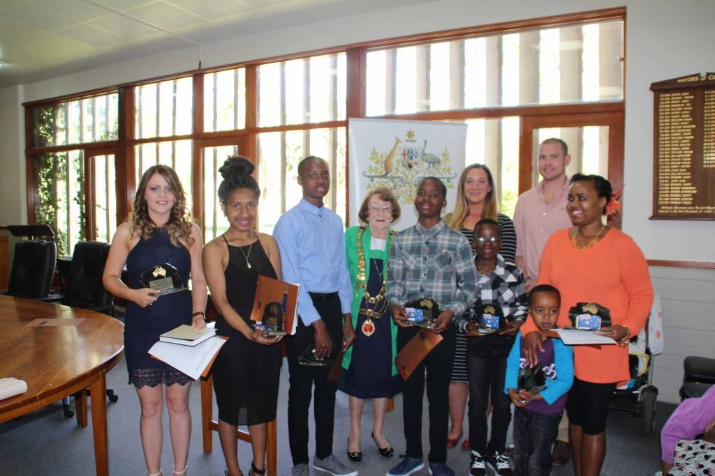 Mayor Lilliane Brady last Friday officiated over the biggest naturalisation ceremony in Cobar to date, welcoming nine new Australian citizens.