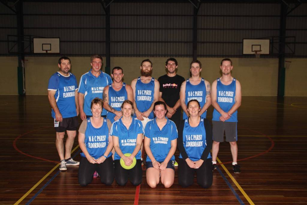 M&C Parisi Floorboards Mixed Indoor Soccer team have continued their good form from last season and to date are unbeaten in the summer competition.