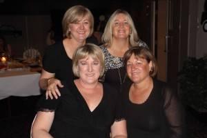 Gail Russell, Larell Obray, Donna Prendergast and Brenda Fugar.