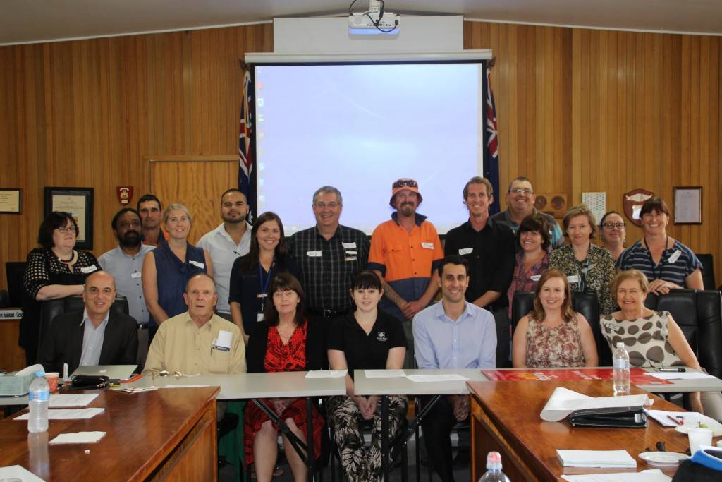 Cobar Shire Council's sister city Canterbury Council officers visited Cobar last week to participate in a range of constructive activities and to share resources and information with local council officers in an aim to improve the shire.