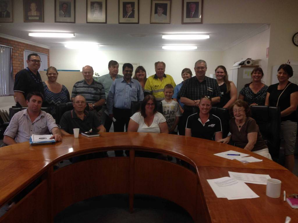 Council staff, councillors and members of the public attended Cobar Shire Council's Community Enhancement Program public meeting last Wednesday night at the Council Chambers to create an infrastructure 'wish list' to help with council's future planning.