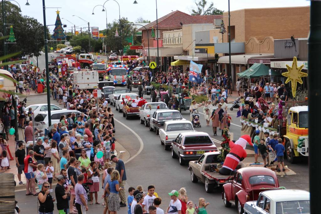 "The Cobar Business Association delivered on their promise to make this year's Christmas Street Parade ""bigger and better"" with a huge crowd of spectators turning out Thursday night to witness the long convoy, which included more than 25 vehicles and over 100 people. New for this year's parade were decorated floats with the Baptist Church's Nativity float (pictured above at far right) the  winner of the inaugural 'Margaret's Choice' best in parade award. Other strong contenders for the title were the Cobar Roosters, the CDMA and the Cobar Shire entries. In addition to late night shopping, the crowd was well entertained by local singers and dancers."