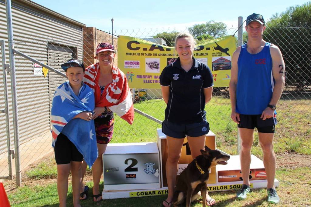 The handicap winners of the Cobar Athletics & Triathlon Squad's December event on Sunday were: 1st—Georgia Baker (who competed in individual short course); 2nd—Team Lynchies, Noah and Kylie Lynch (teams short course) and 3rd—Alistair Travis (individual long course).