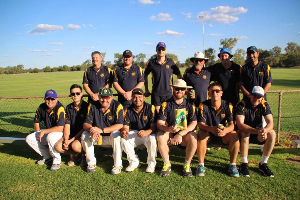 The CSA Cricket team had plenty of starters for their Twenty/20 cricket match on Friday night at Ward Oval. In contrast their opposition, The Thirsty Camels, were scratching for players. CSA finished as the winners.