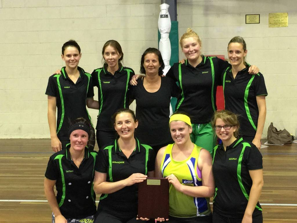 Howie's Off Cuts were the winners of the B Grade Indoor Netball grand final last  Tuesday night at the youth centre beating Hot Shots in a nail-biter. ▪ Photo contributed