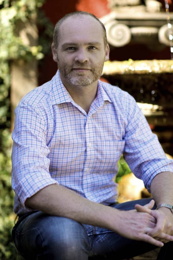Right: Cobar's Australia Day ambassador, social entrepreneur Andrew Heslop, will be on hand next Tuesday to present Cobar's Australia Day awards and participate in the festivities to be held at Cobar Memorial Swimming Pool.