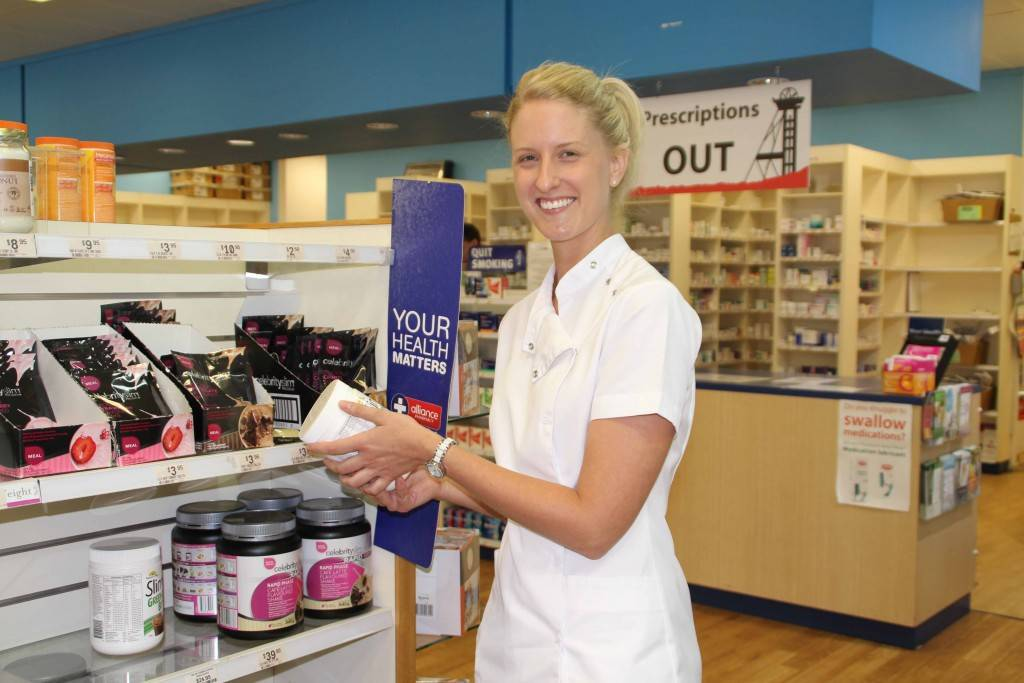 A former pharmacy assistant and now qualified pharmacist Shannon Eves has returned to The John Mitchell Pharmacy to work full time.