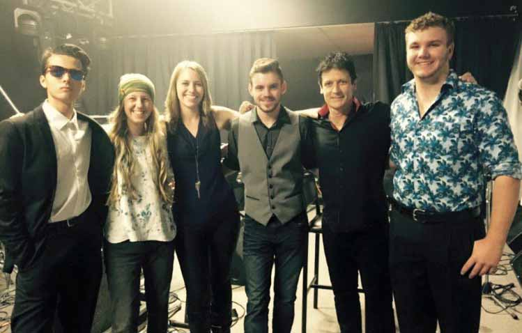 Local Kahlia Martin recently graduated from the Country Music Association of Australia (CMAA) Academy of Country Music. She is pictured (third from the left) with the 2016 instrumental group and their tutor (second from right) Simon Johnson. ▪ Photo contributed