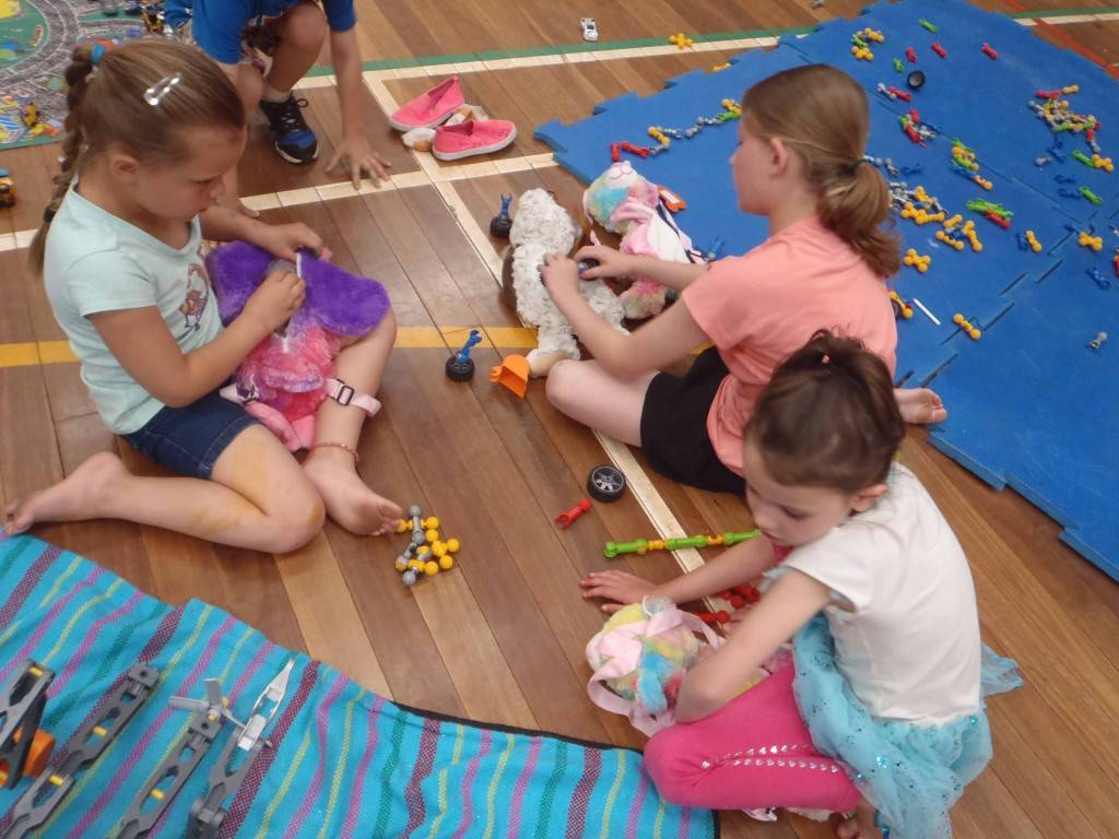 COOSH Vacation Care children Rhylee Patterson, Mia O'Hara and Izzy O'Hara enjoyed their time at the child care service over the school holidays. ▪ Photo contributed