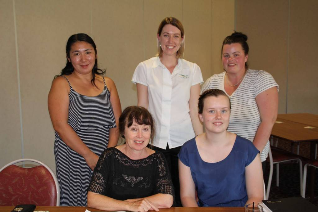 The Cobar Market day committee meet at the Cobar Bowling & Golf Club last Wednesday. Hiroko Price, Sue Singleton, Ellie Russell, Heide Stone and Bec Wyllie discussed the plans and direction that this year's markets will take.