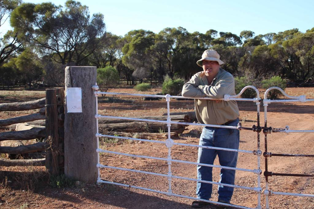 Local landholder Steve Motton applauds the proposed new police laws that would see poachers charged on the spot.