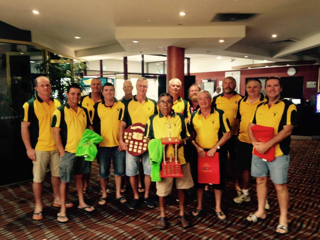 The Cobar Yabbies following the Western Districts Swimming Carnival presentations at Forbes on Sunday. ▪ Photo contributed