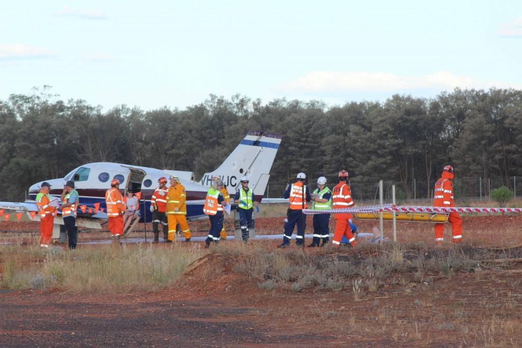 Cobar emergency services tested their skills at an airport emergency simulation drill late on Monday afternoon.