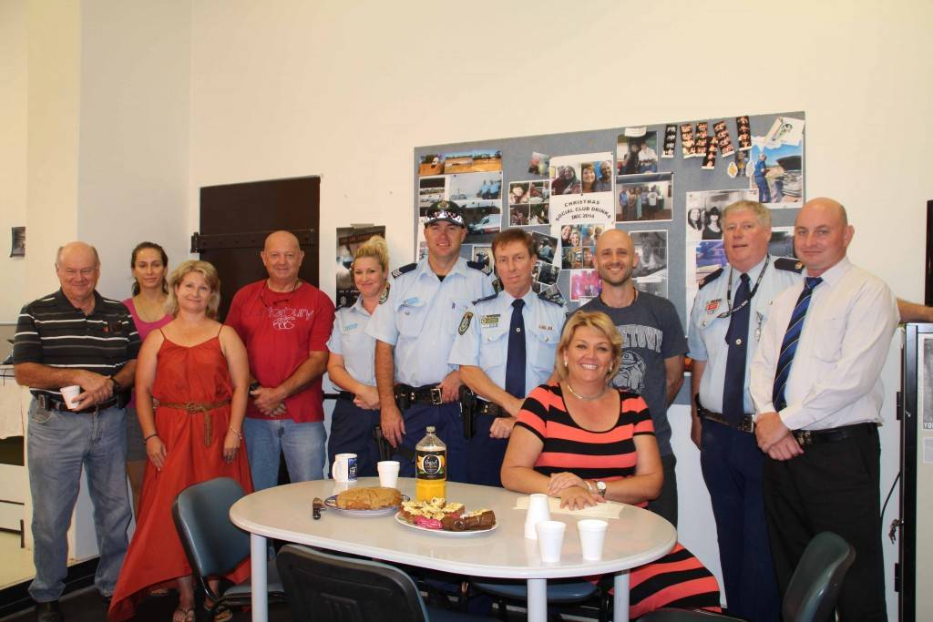 Cobar Police, Darling River Local Area Command staff and community members held a special morning tea at Cobar Police Station on Monday morning in memory of former Cobar officer, Sergeant Geoffrey Richardson, who was tragically killed while on duty over the weekend.