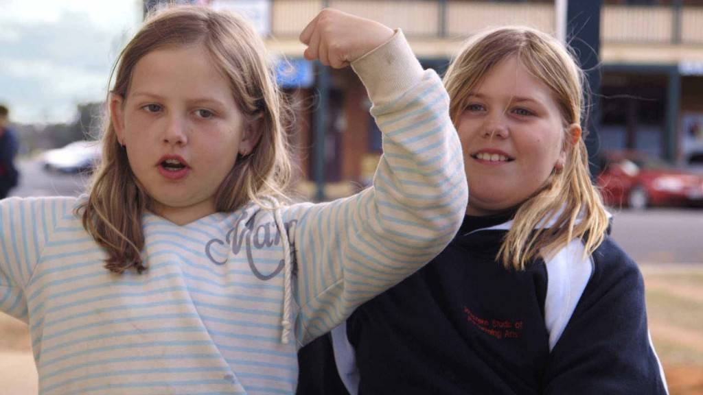 Local movie starts former Cobar resident Ella Dzwonczyk and Katelyn Martin will feature in the cast of Wide Open Sky as part of the Moorambilla Voices children's choir. Viewing of the film will take place next Wednesday at the Cobar Youth & Fitness Centre. Photo contributed