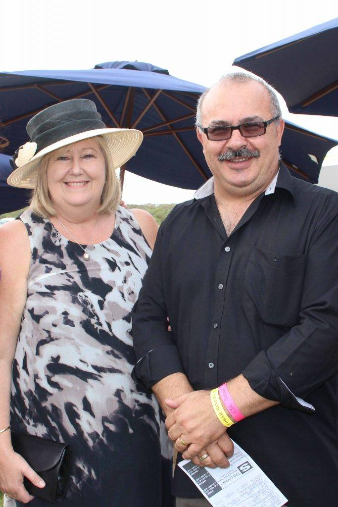 Council's new general manager Peter  Vlatko and his wife Anna joined Cobar Shire councillors and staff for a day out at the Cobar Races on Saturday.