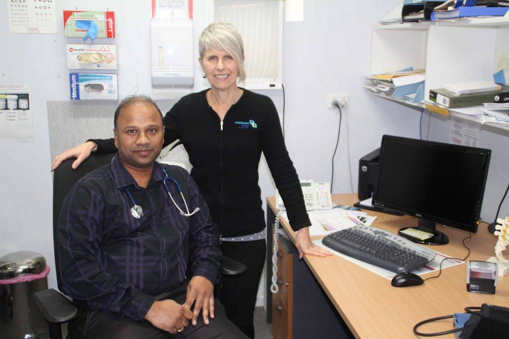 "Cobar Primary Health Care Centre's Dr Rajesh Jawajiwar and his family will leave town next month headed for Brisbane. Dr Raj said he has enjoyed working in Cobar and will miss living here. He said he is very grateful to have had the opportunity to serve the community for the past three and a half years. Centre practice manager  Bernie Martin (pictured above with Dr Raj) said Cobar has been lucky to have  the services of five doctors. She said the centre will probably not be looking to  immediately replace Dr Raj as things had quietened down since the Endeavor layoff in January. She said the centre can operate efficiently with three doctors. ""We'll see how things go and may look to recruit another doctor later in the year,"" Mrs Martin said."