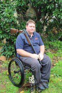 Scott Brydon is hoping to compete in the International Para-Clay Target Shooting Grand Prix in Italy.