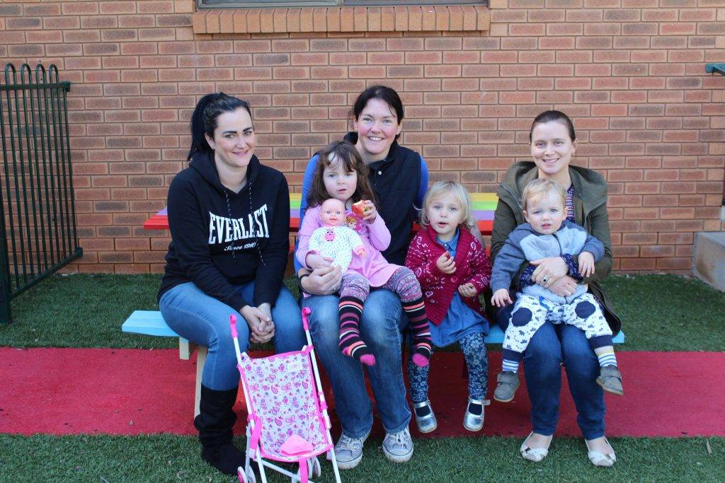 Cobar and District Mother's Association held their AGM on Monday with Ashlee Frost (vice president), treasurer Rach Hadkins (with daughter Katy and Elleanor Caldwell) and secretary Elsa Mitchell (with son Tom) among those elected to the committee.