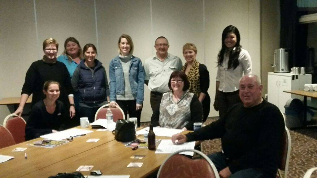 A number of local businesses attended a Social Media Matters workshop at Cobar  Bowling & Golf Club on Monday. ▪ Photo contributed