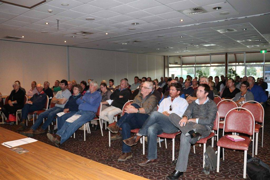 A group of more than 70 people, predominately local landholders, turned out for a Biohub public information meeting on Friday at the Cobar Bowling & Golf Club.