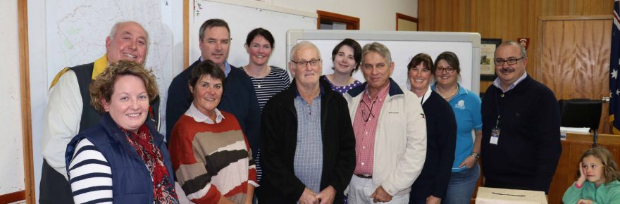 A group of locals from a range of industries and interests attended a public meeting at Cobar Shire Council last week to discuss Cobar's economic future.