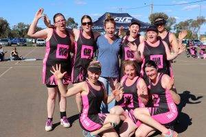 Hot Shots were elated after their women's B Grade netball grand final win on Saturday.