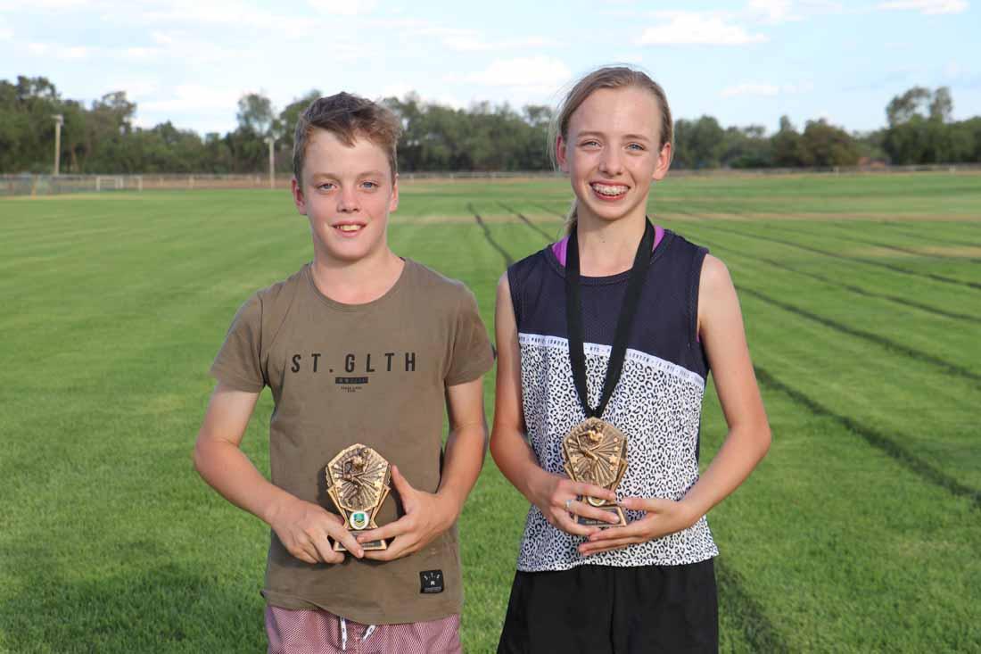 Touch juniors winners Best & Fairest 1