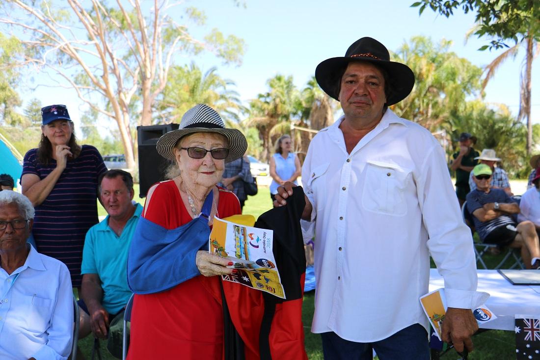Australia Day Lilliane Brady and Louie Griffiths