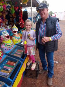 Cobar Show clowns