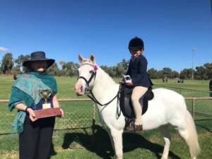 Cobar Show horses Tillie Cain
