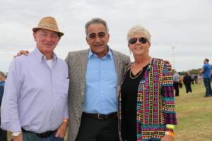 b print Cobar Races Mick and Sally Bannister with Chris Simon (69)