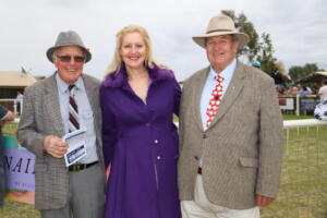 b print Cobar Races Rusty Mitchell, Heather Christie and Geoffrey Langford (121)