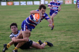 b print Rugby league Under 18s v Baradine Ben Griffiths second try (246)