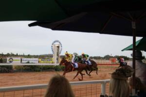 races Cobar Cup finish