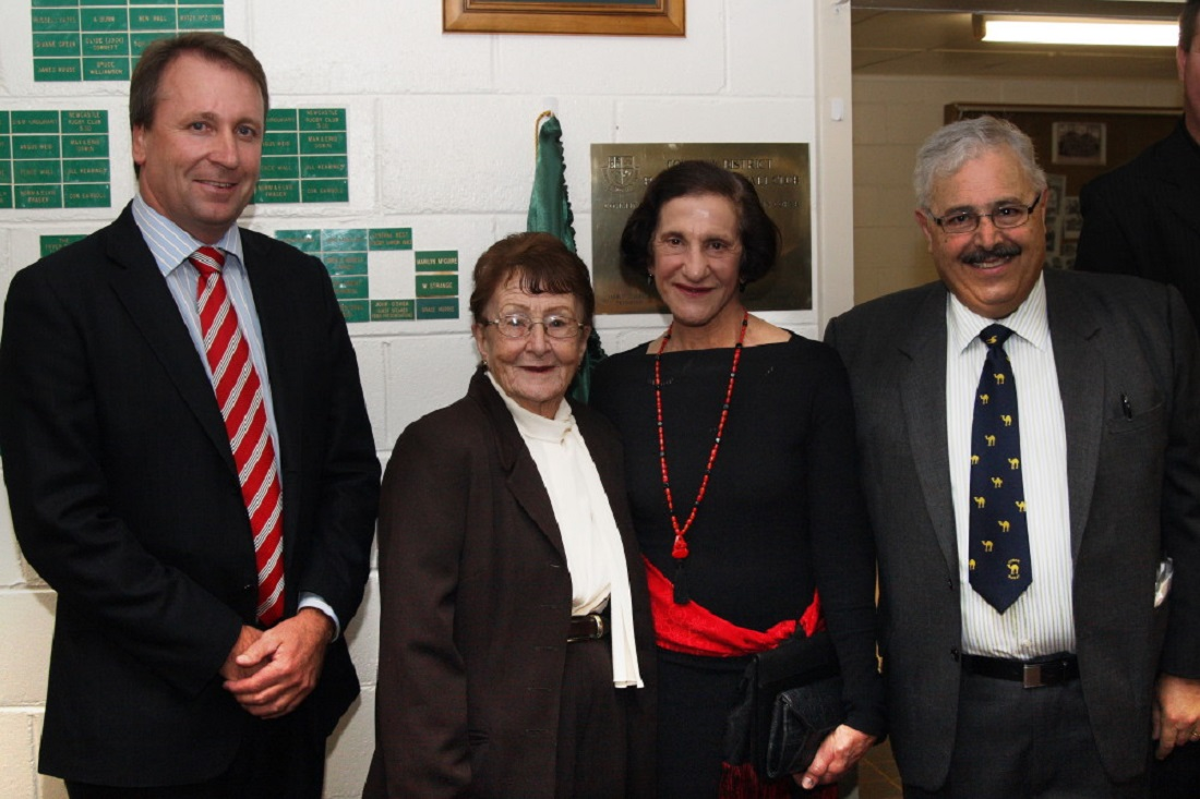 Governor Marie Bashir with Kevin Humphries, Lilliane Brady and Michael Doumani