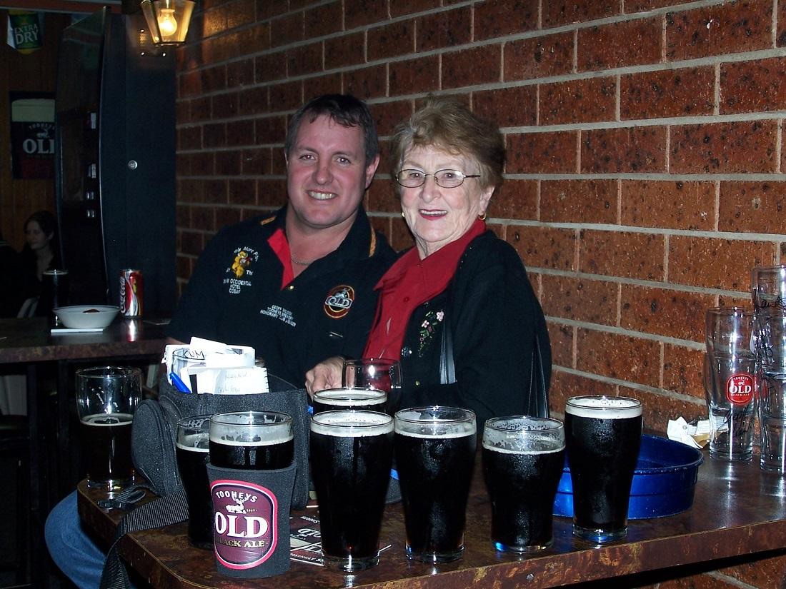 Occ – Black Beer Club – Geoff Wilson & Lilliane Brady 16 June 2005