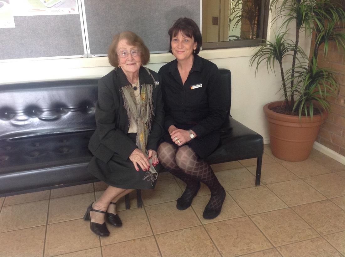 Re-elected Mayor Lilliane Brady and New Deputy Mayor Tracey Kings