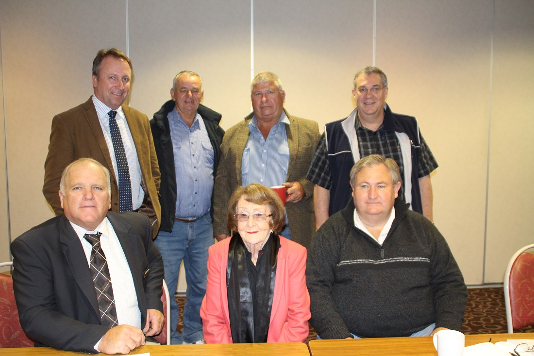 Western Division Council Meeting Andrew Lewis, Kevin Humphries, Peter Yench, Lilliane Brady, Bob Sinclair, David Lane, Garry Woodman