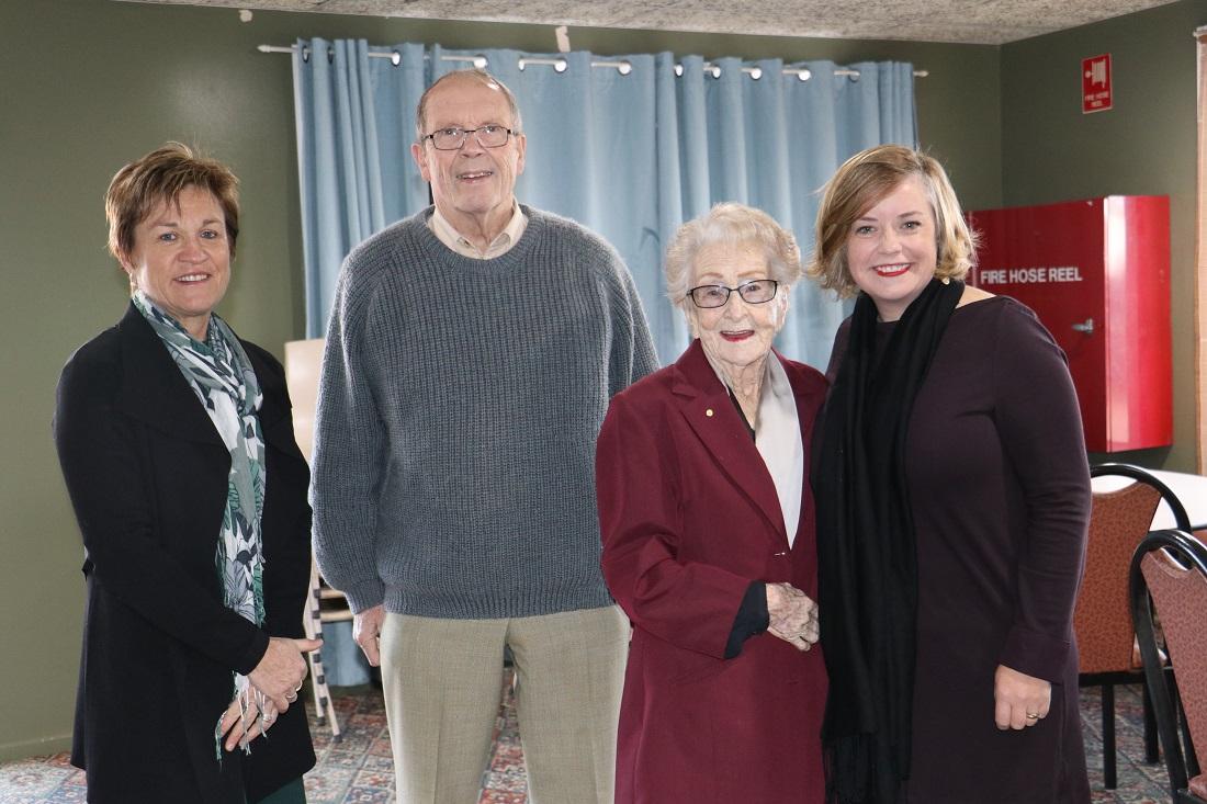 Western Division conference Mrs Dalton, Peter Abbott, Lilliane Brady and Linda Scott