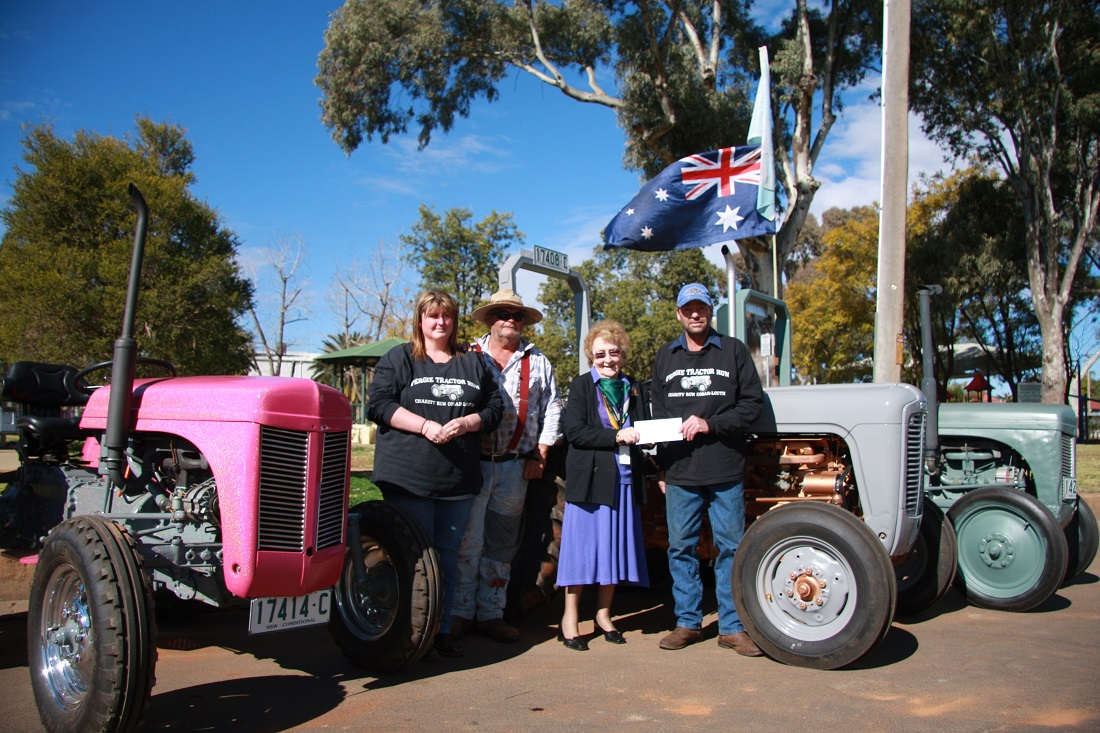 Fergie Tractors donation to Mayoral Chest
