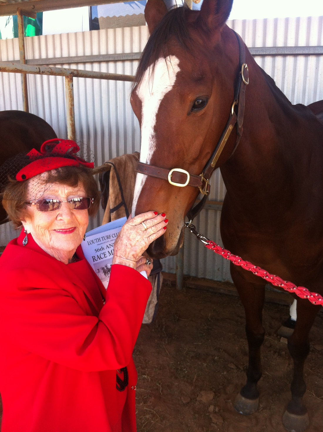 contributed Lilliane Brady and Magic Bella at Louth Races