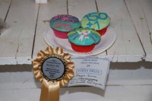 Cobar Show pavilion cakes winner