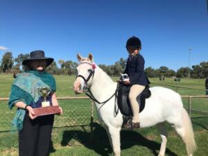a print contributed Cobar Show horses Tillie Cain