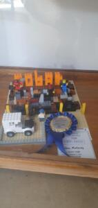 first prize jnr lego